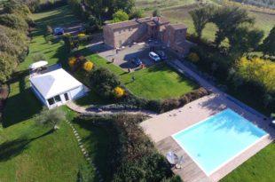 foto aerea casale Cardini