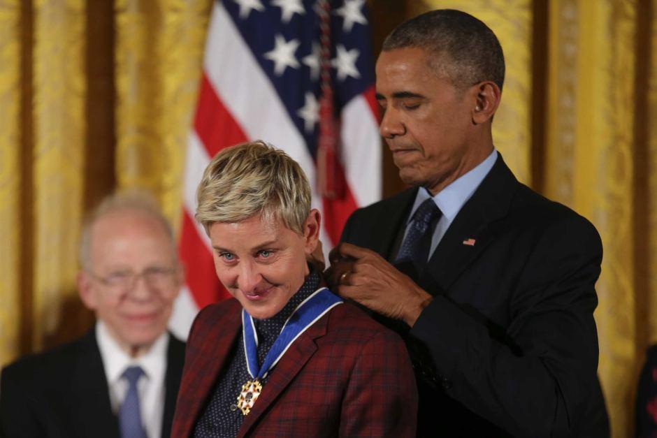Un grande premio per Ellen DeGeneres..