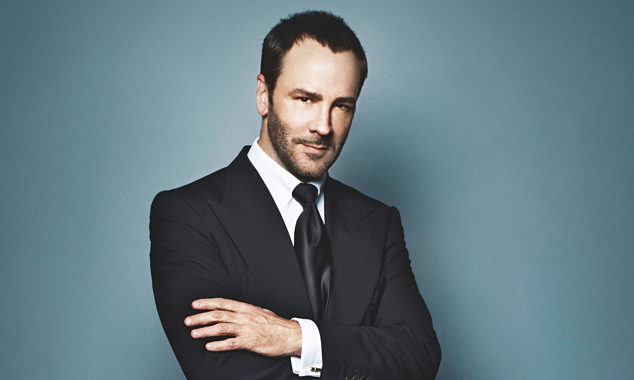 Tom Ford in una recente intervista alla ABC Breaking News.