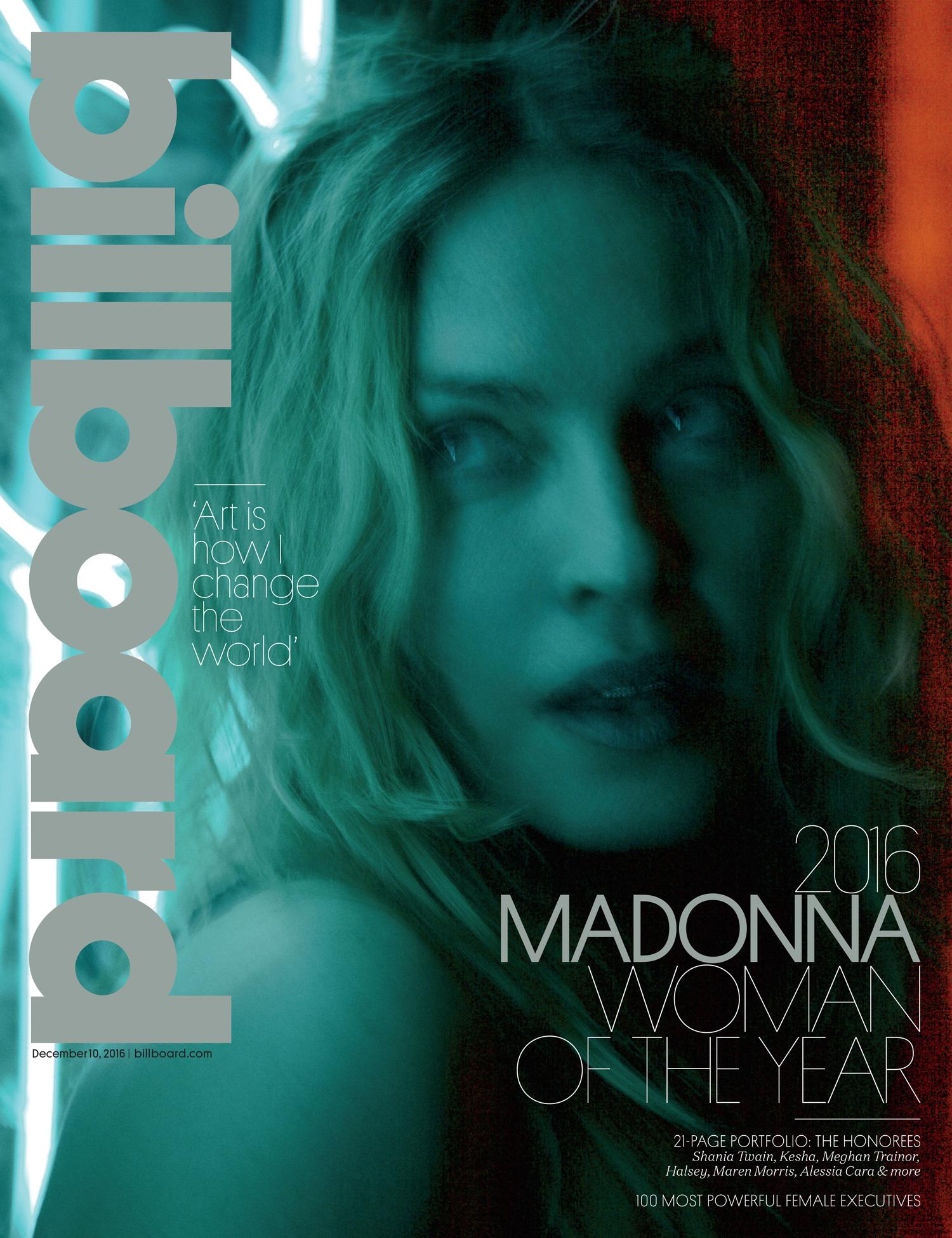 Madonna eletta donna dell anno.