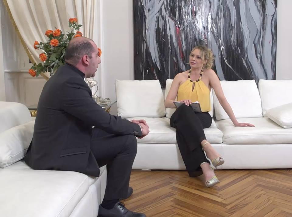 Il Wedding Planner Francesco Trapani ospite da Anna Falchi.