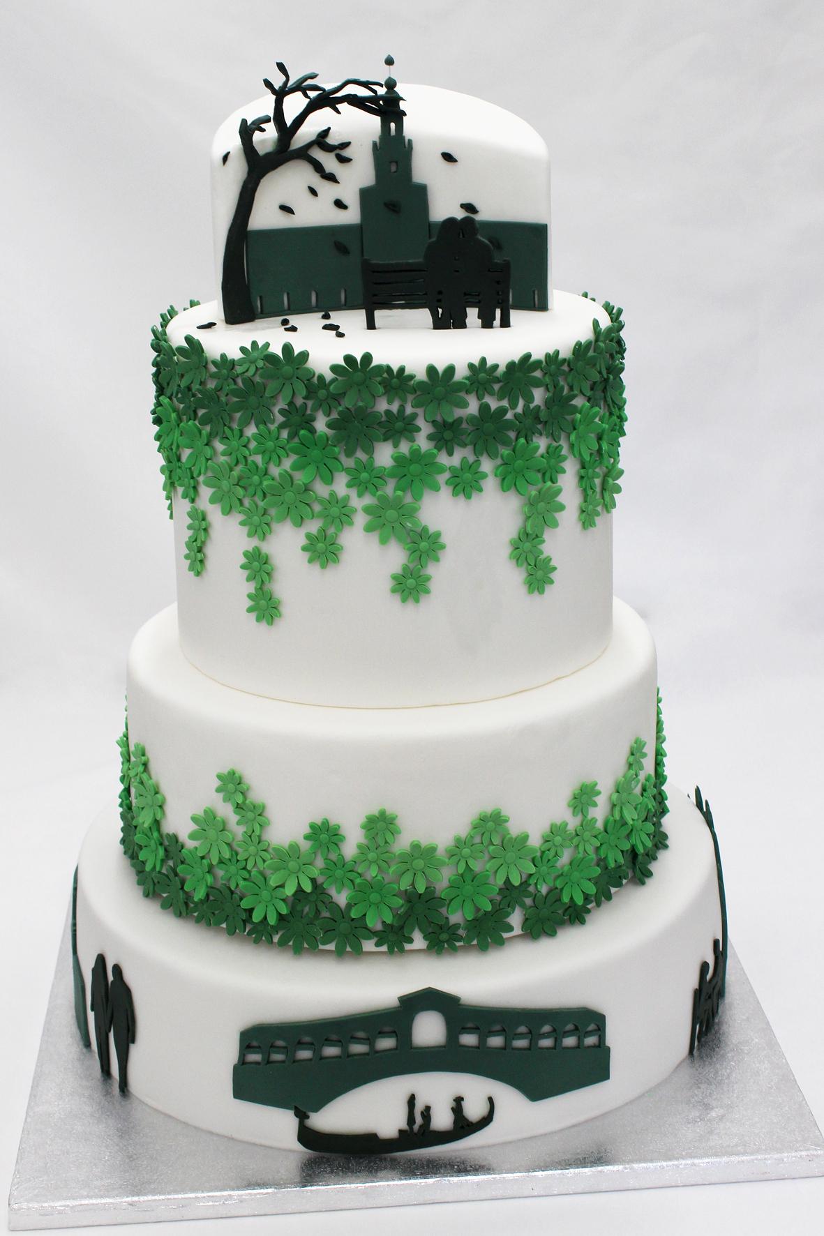 Il cake design è per noi la perfetta fusione tra gusto estetico e gusto del palato.