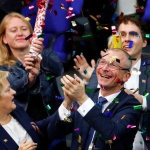 Le foto di oggi. Anche la Germania dice SI!