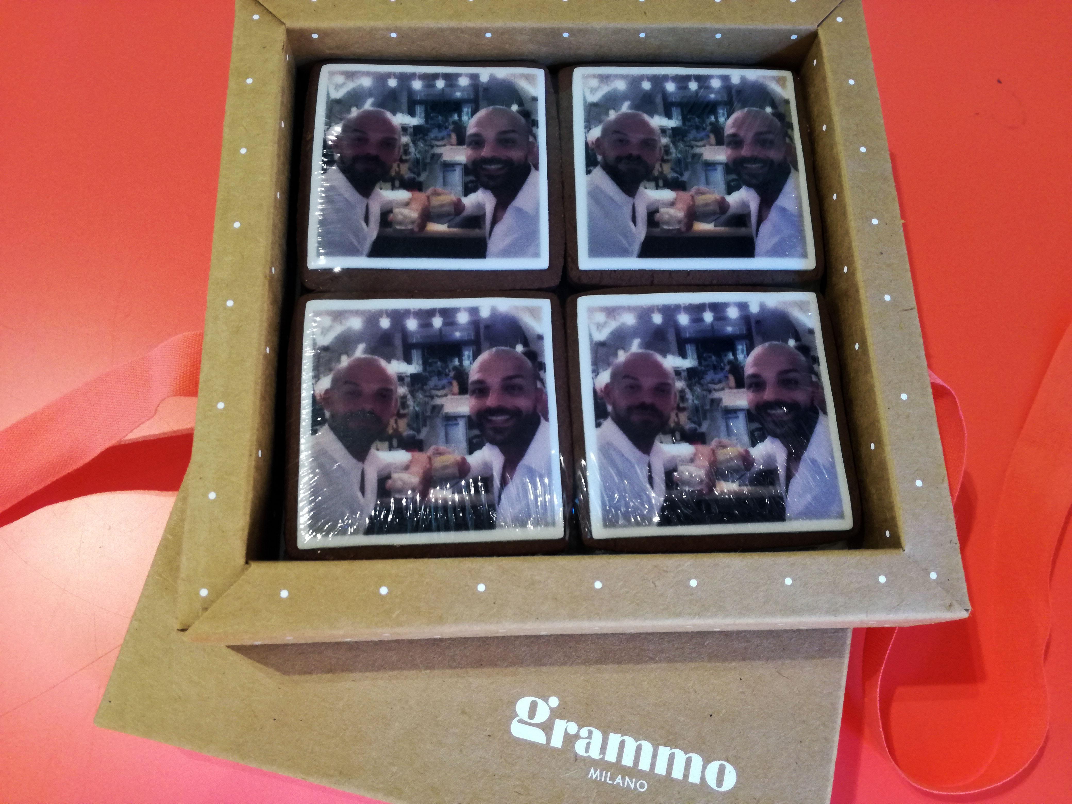 Grammo Milano: biscotti e confetti personalizzati.