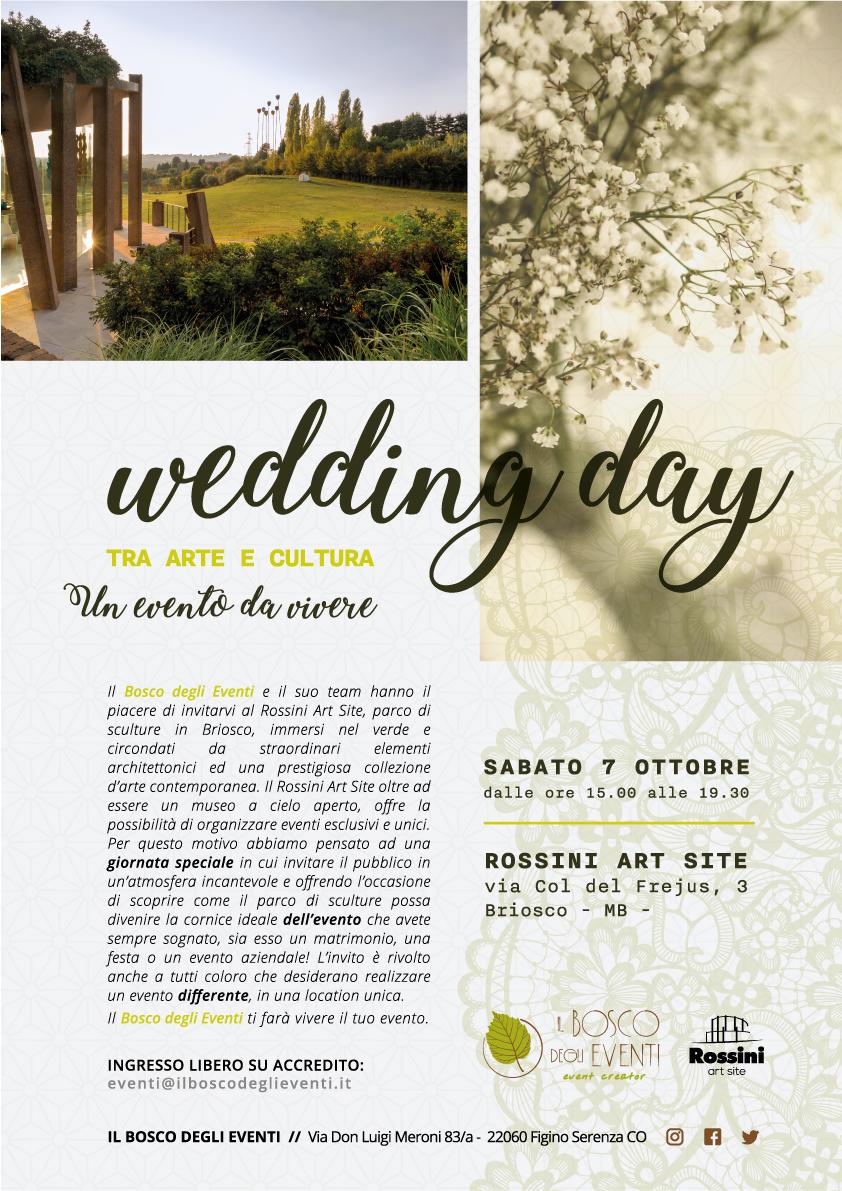 Sabato7 Ottobre2017 a Briosco, ilWedding Day - Un Evento da Vivere.