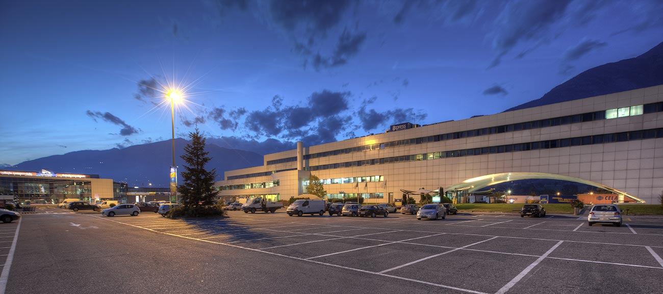 Hotel Express Aosta. La sua location si presta a qualsiasi tipo di soggiorno.