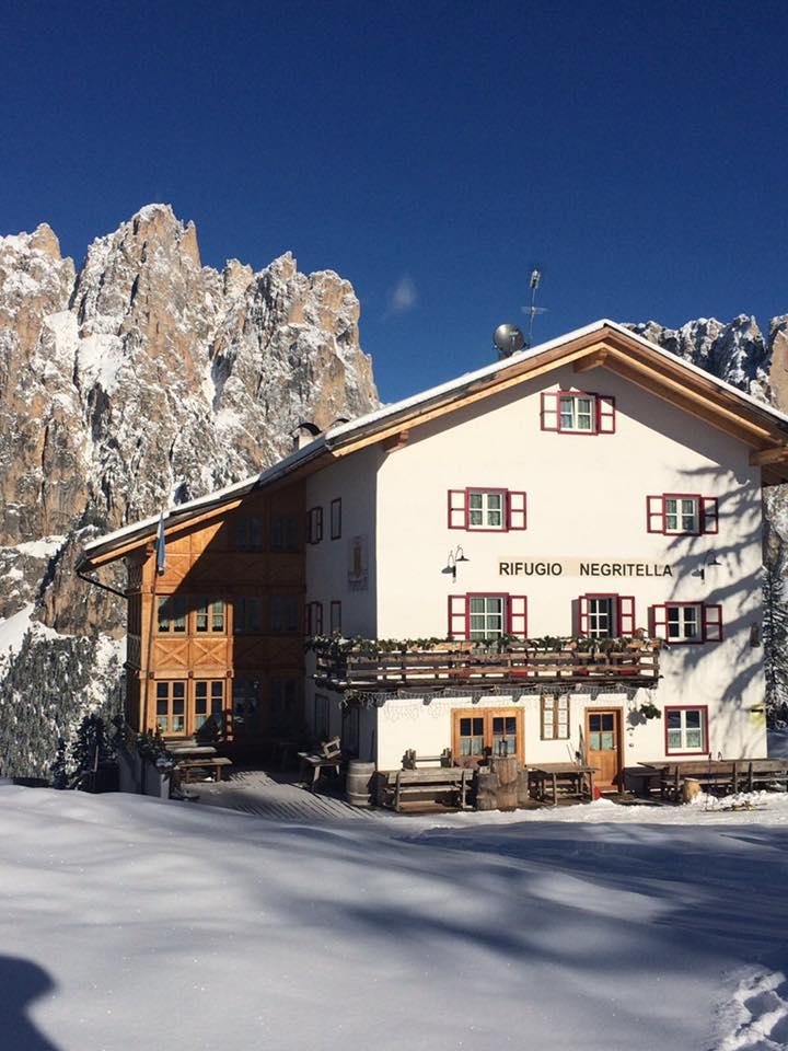 Rifugio alpino Negritella...il fiore delle Dolomiti.