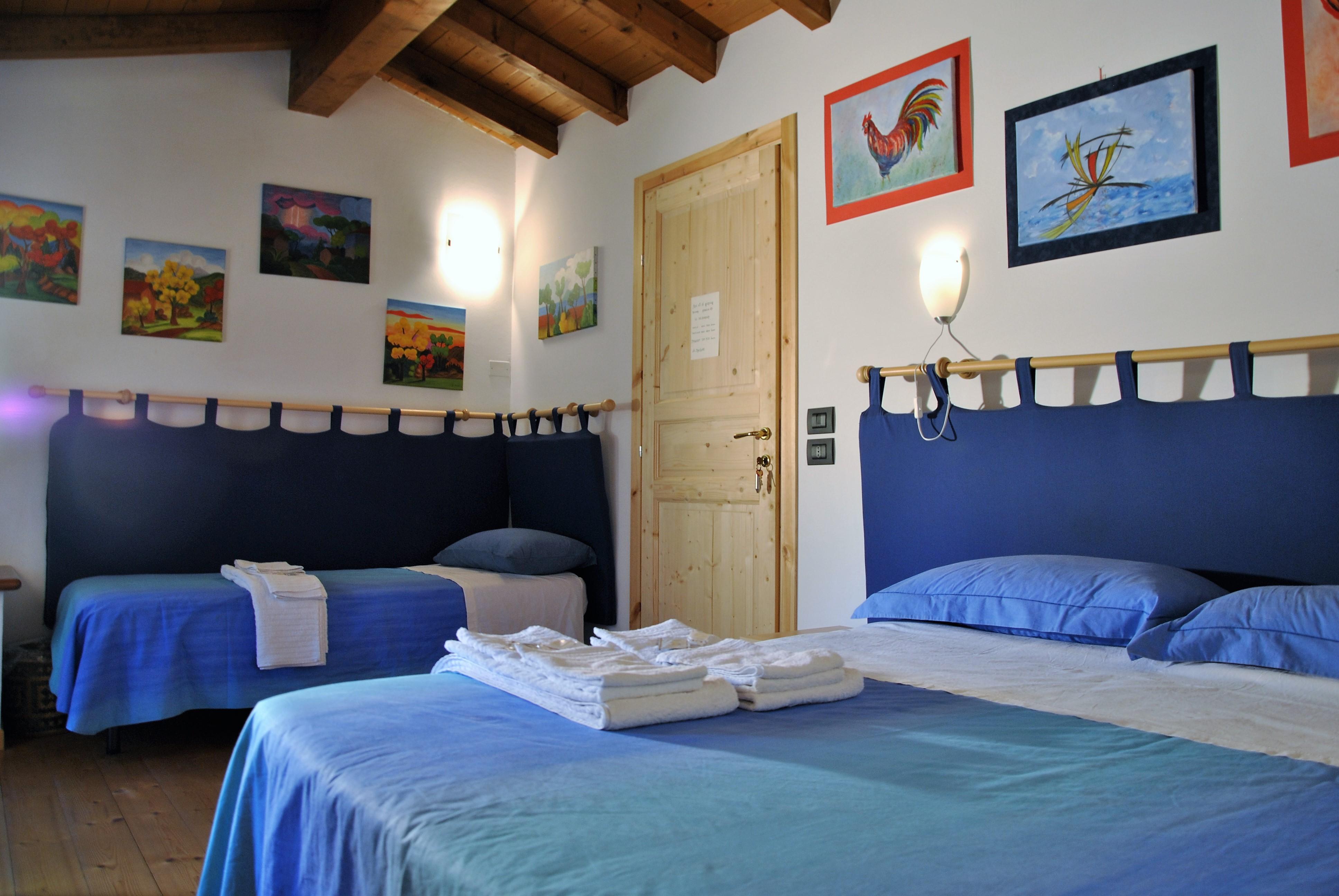 Il Bed and Breakfast Gemma è un luogo di vacanza e pace.