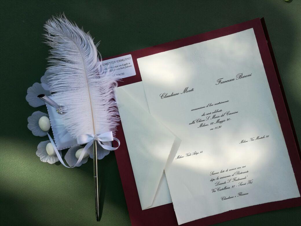 TipografiaMolini1944: le Partecipazioni per il giorno del tuo Matrimonio.