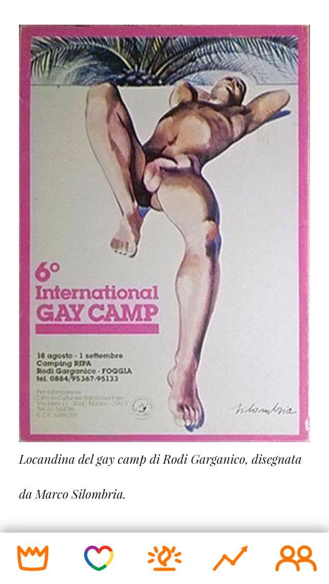 Era il 1984, quando al Villaggio Ripa si organizzarono le Olimpiadi Gay del Gargano.