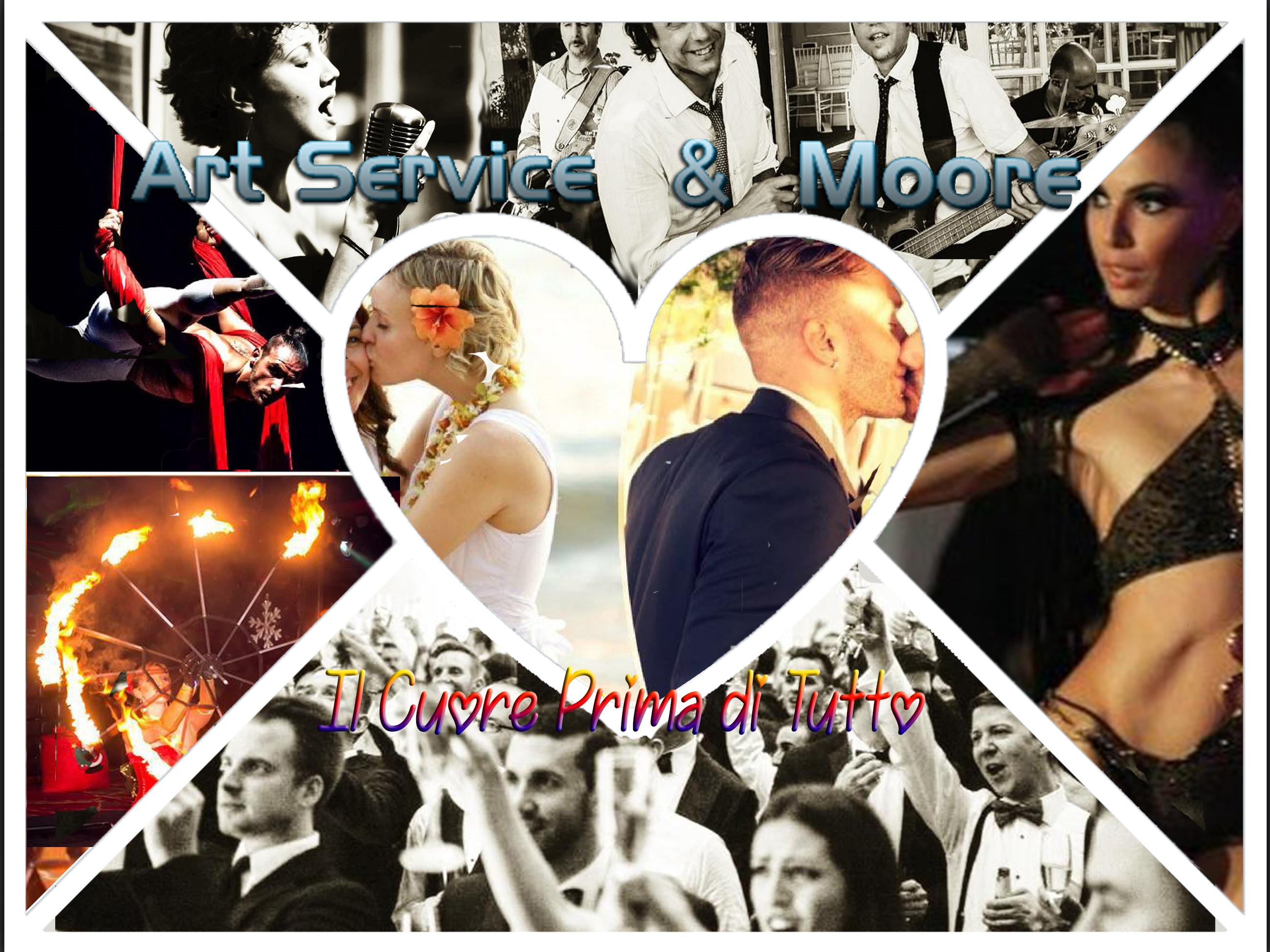 ART Service & Moore - il vostro WEDDING PLANNER MUSICALE