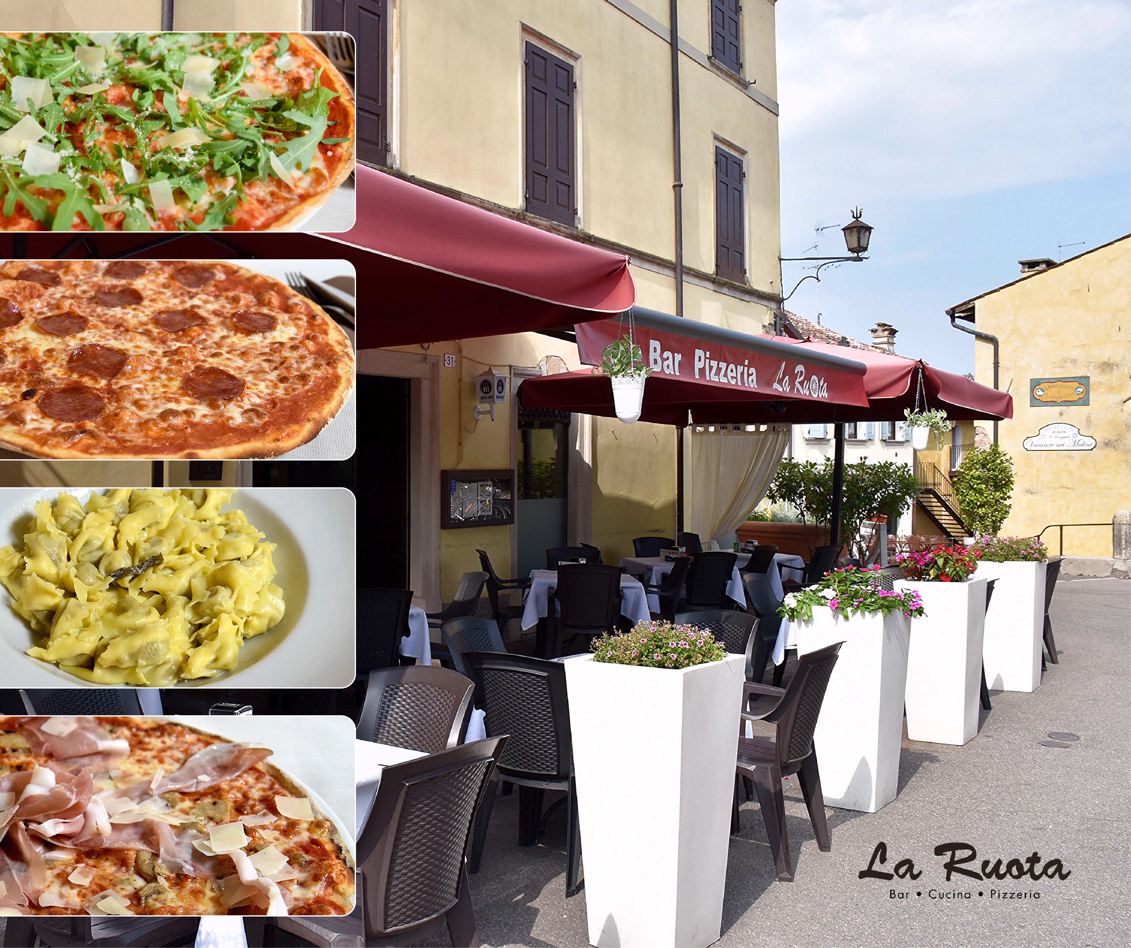 La Ruota - Pizzeria con Cucina a Valeggio sul Mincio.