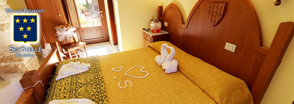 In una cornice dove la storia e la natura fanno da protagonisti nasce il Bed and Breakfast Sei Stelle.