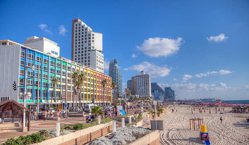 Tel Aviv, la città dell'eterna primavera