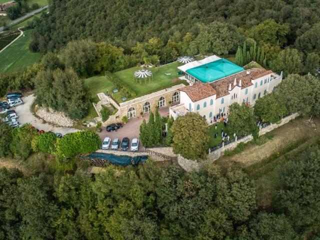 Capodanno alla Rocca di Rodengo, in Franciacorta.