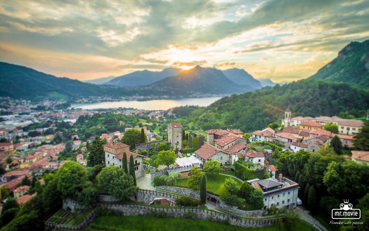 Matrimoni sul Lago di Como: Castello di Rossino è la location per i tuoi eventi.