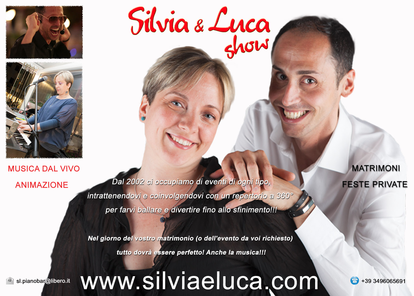 Silvia e Luca Show: Tutto dovrà essere perfetto! Anche la musica!!