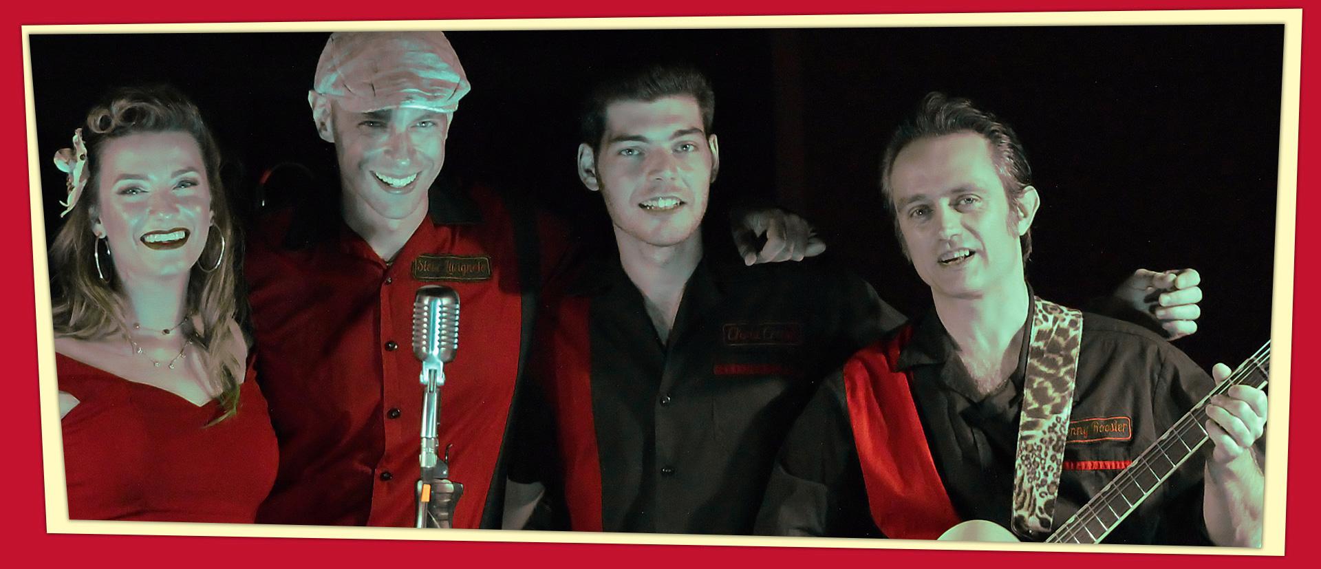 Hound Dog Rockers: Porta i favolosi anni '50 alla tua festa